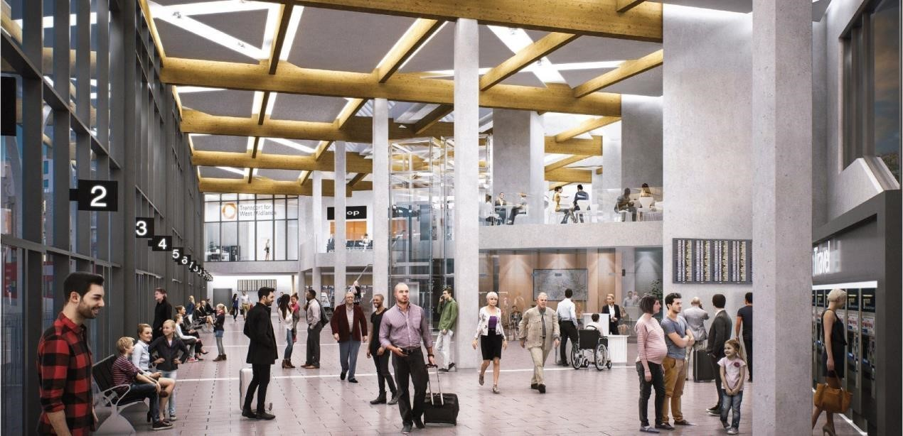 This is what the new Dudley exchange will look like